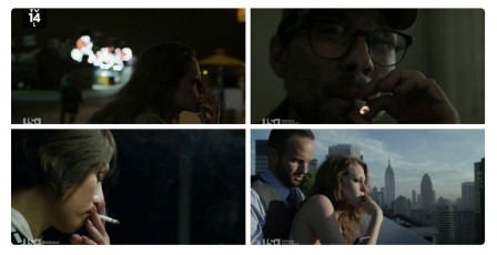 Smoking is the new homosexuality. A massive coming out in Hollywood films